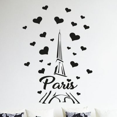 Paris-France-Eiffel-tower-love