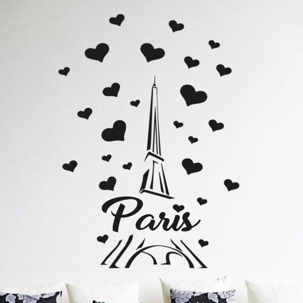 Paris-France-Eiffel-tower-love