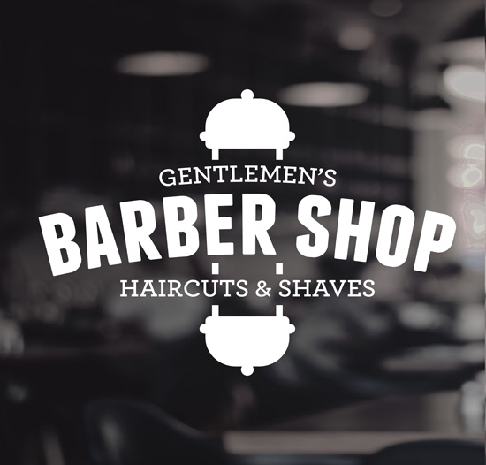 Barbers shop stickers