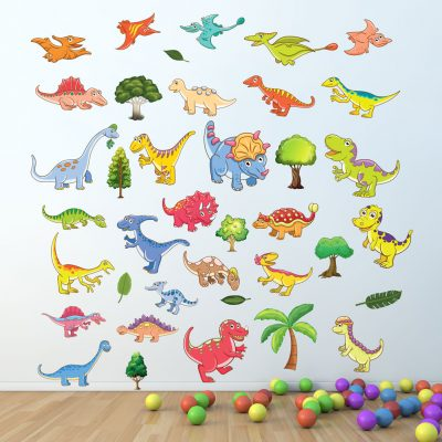 Animals wall stickers