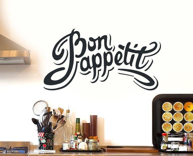 Bon-Appetite-Kitchen-Wall-Sticker-Vinyl-Decal-Art-Restaurant-Decor-Silhouette-262246881210