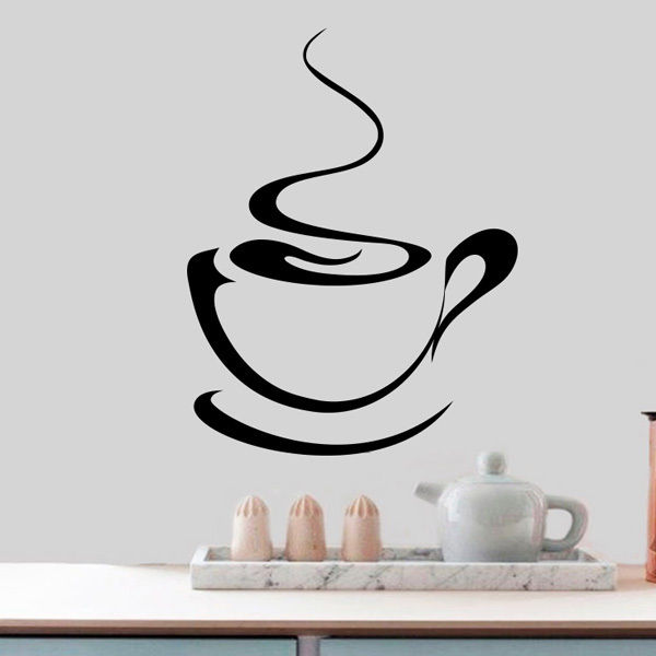 Coffee-Tea-Cup-Kitchen-Retro-Wall-Sticker-Vinyl-Decal-Art-Restaurant-Pub-Decor-262492615700