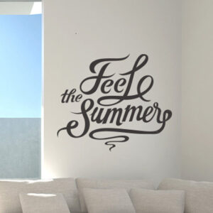 Feel-The-Summer-wall-decal-hall-vinyl-living-room-sticker-mural-decoration-tatoo-262417170260