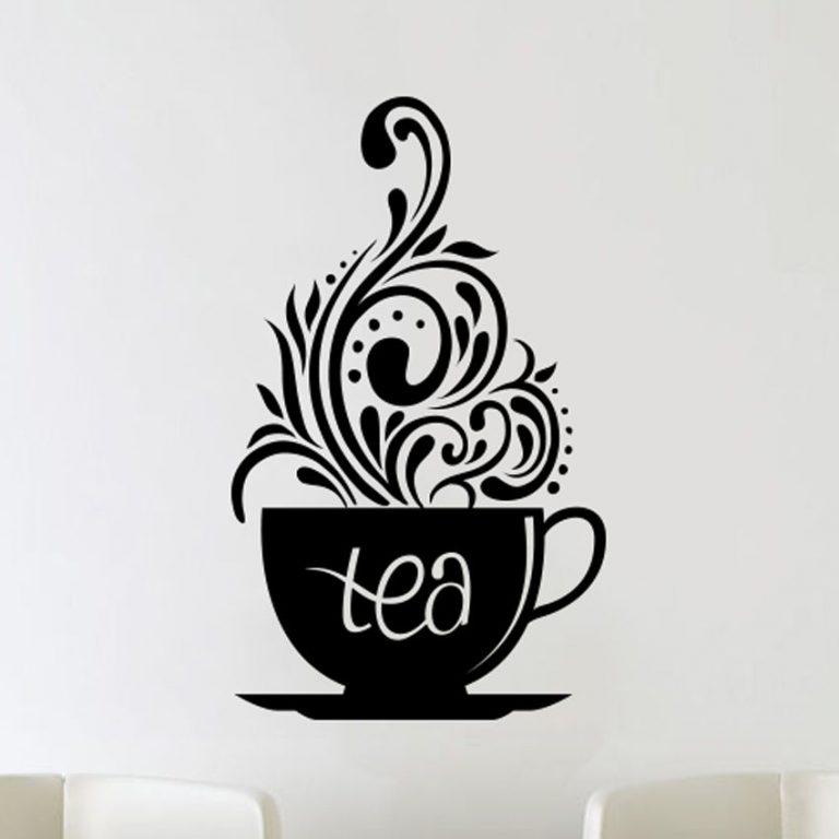 Love-Tea-Cups-Kitchen-Wall-Coffee-Sticker-Vinyl-Decal-Art-Restaurant-Pub-Decor-262620155690