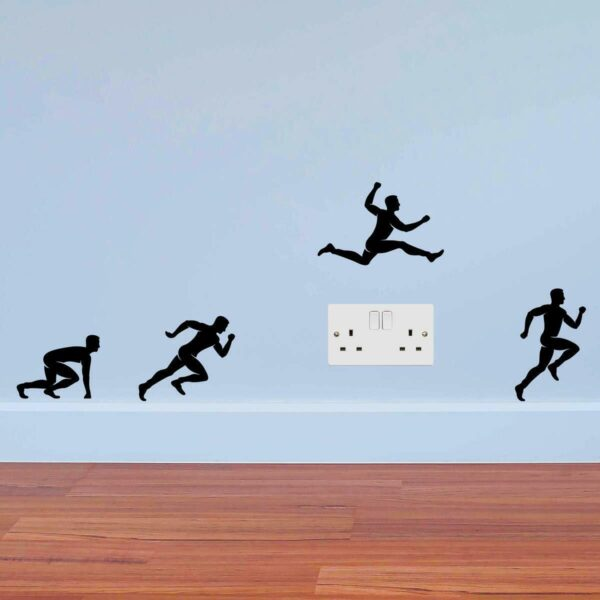 Runners-Jumping-Men-Sport-Wall-Sticker-power-socket-plate-light-switch-Wall-264388672430
