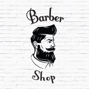 Barber-Shop-Gentlemens-Hair-Men-Salon-Window-Vinyl-Sign-Sticker-Lettering-Beauty-252376108561