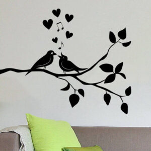 Birds-on-Tree-Wall-Vinyl-Sticker-Decal-Livingroom-Children-Mural-Art-252420396751