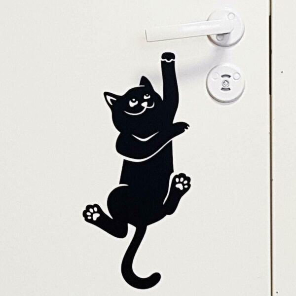 Cat-Wall-Sticker-door-handle-light-switch-socket-Wall-Sticker-Vinyl-Decal-Mural-254286912071