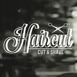 Haircut-Barber-Shop-Gentlemens-Hair-Men-Salon-Window-Vinyl-Sign-Sticker-Beauty-252522805281