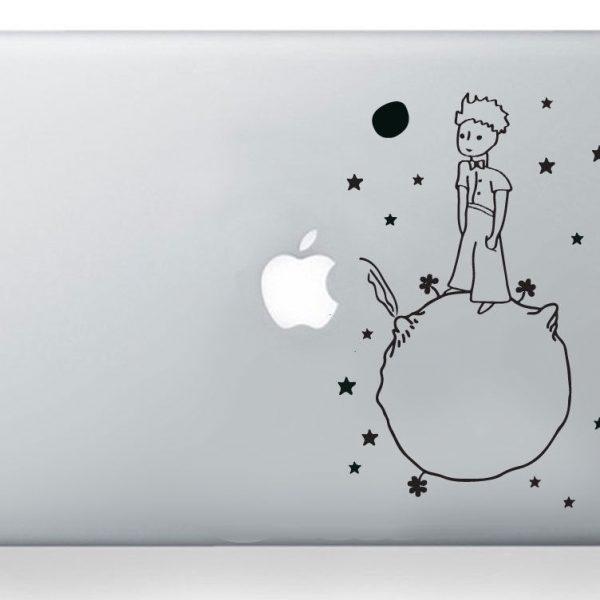 Little Prince Petit Prince Sticker Laptop Macbook Decal Art Apple