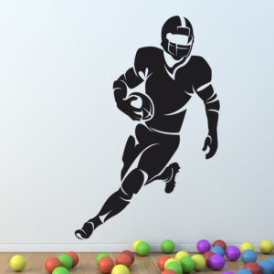 American-football-rugby-Player-Wall-Sticker-Vinyl-Decal-Art-Mural-Graphic-Decor-262651445582