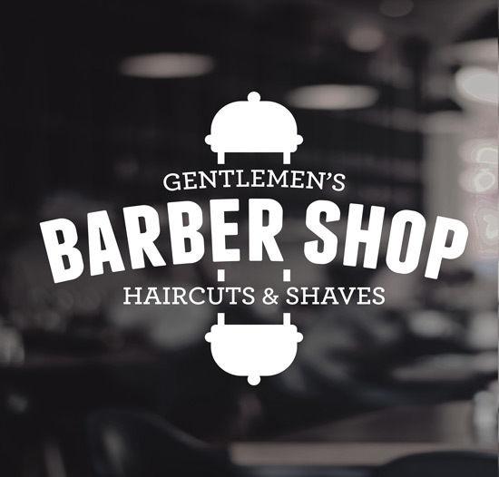 Barber-Shop-Gentlemens-Hair-Men-Salon-Window-Vinyl-Sign-Sticker-Lettering-252378490072