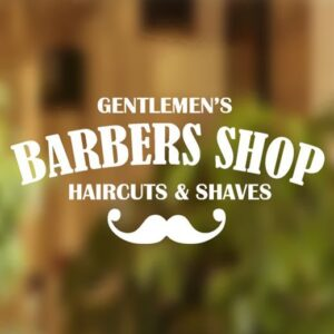 Barber-Shop-Gentlemens-Hair-Men-Salon-Window-Vinyl-Sign-Sticker-Lettering-262100914082