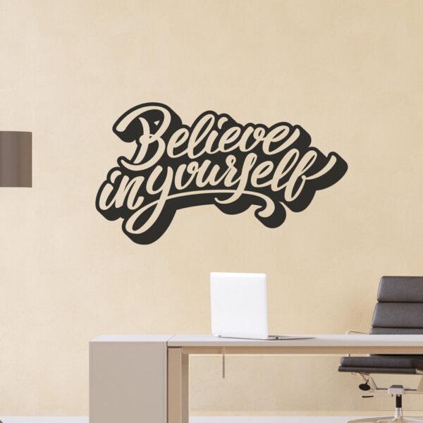 Belive-in-Yourself-Wall-Decor-Vinyl-Sticker-Decal-Livingroom-Children-Mural-Art-262639414242