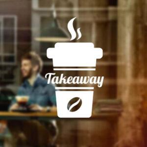 Coffee-Takeaway-Shop-vinyl-sticker-Window-Lettering-Wall-art-sign-decor-cafe-262135107902