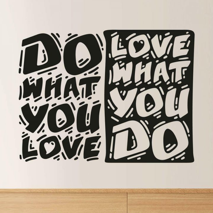 Do-what-you-love-Love-what-you-do-wall-quote-decal-removable-vinyl-sticker-mural-254286886282