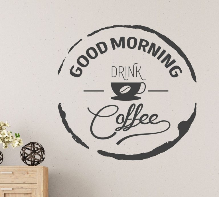Good-morning-drink-Coffee-Wall-Sticker-Vinyl-Decal-Art-Cafe-Decor-Mural-Graphic-263691718182