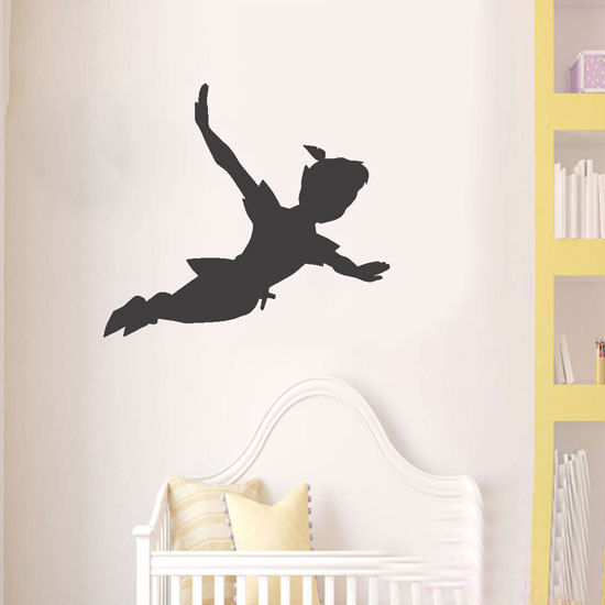 Peter-pan-shadow-wall-decal-nursery-vinyl-sticker-mural-christmas-kids-children-262509672702