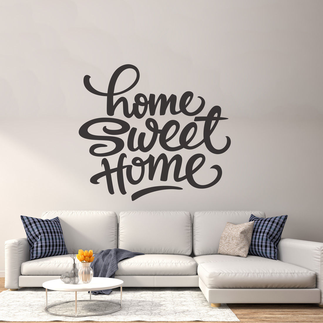 Wall Art Decals For Living Room: Sweet Home Wall Decor Vinyl Sticker Decal Livingroom
