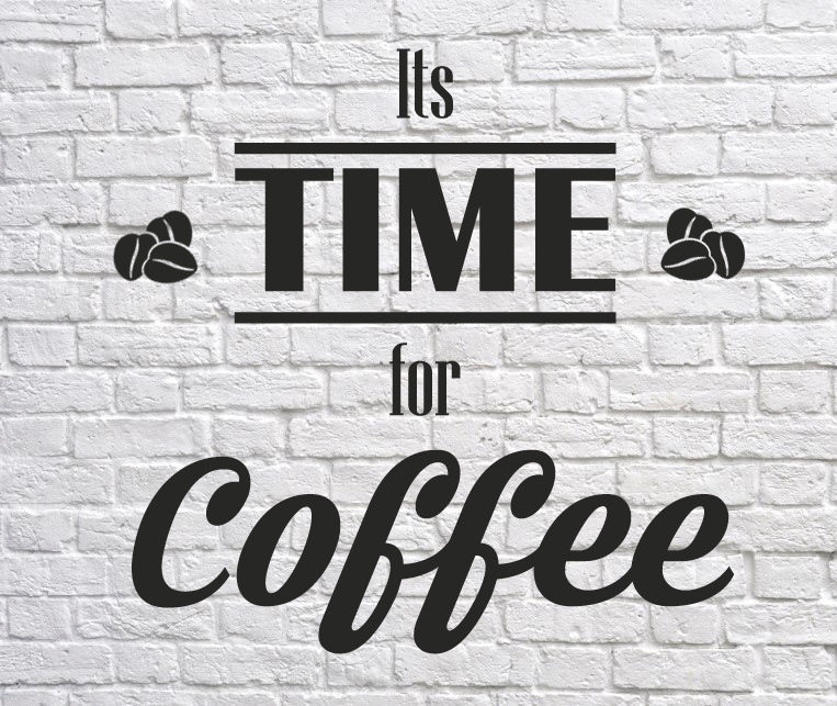 Time-for-Coffee-Shop-sticker-Window-Lettering-Wall-art-sign-Takeaway-decor-252123640932