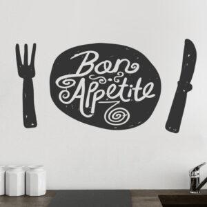 Bon-Appetite-Kitchen-Wall-Sticker-Vinyl-Decal-Art-Restaurant-Pub-Decor-Love-262228752913
