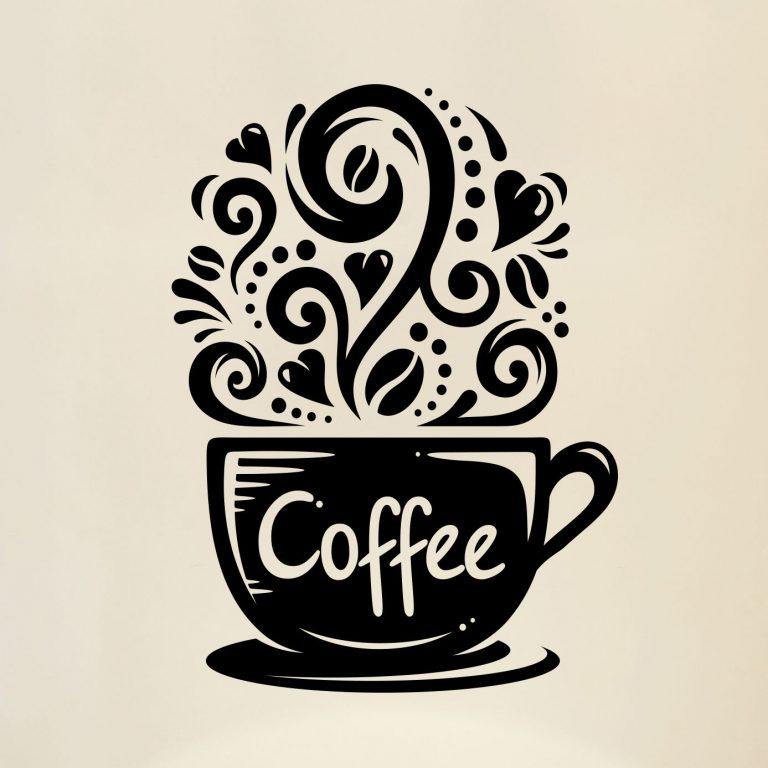 Coffee-Cups-Kitchen-Wall-Tea-Sticker-Vinyl-Decal-Art-Restaurant-Pub-Decor-Love-263099937393