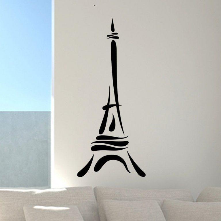 Paris-Eiffel-Tower-love-wall-art-decal-decor-vinyl-sticker-graphics-home-mural-252519582583