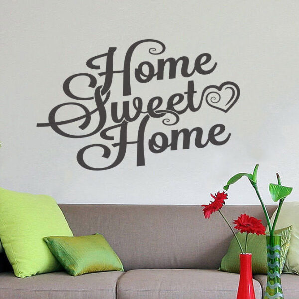 Sweet-Home-Wall-Decor-Vinyl-Sticker-Decal-Livingroom-Nursery-Children-Mural-Art-252311504873