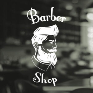 Barber-Shop-Gentlemens-Hair-Men-Salon-Window-Vinyl-Sign-Sticker-Lettering-Beauty-252376101204