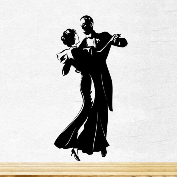 Dancing-Couple-Wall-Sticker-Vinyl-Decal-Art-Mural-Graphics-Kitchen-Love-Decor-252521806014