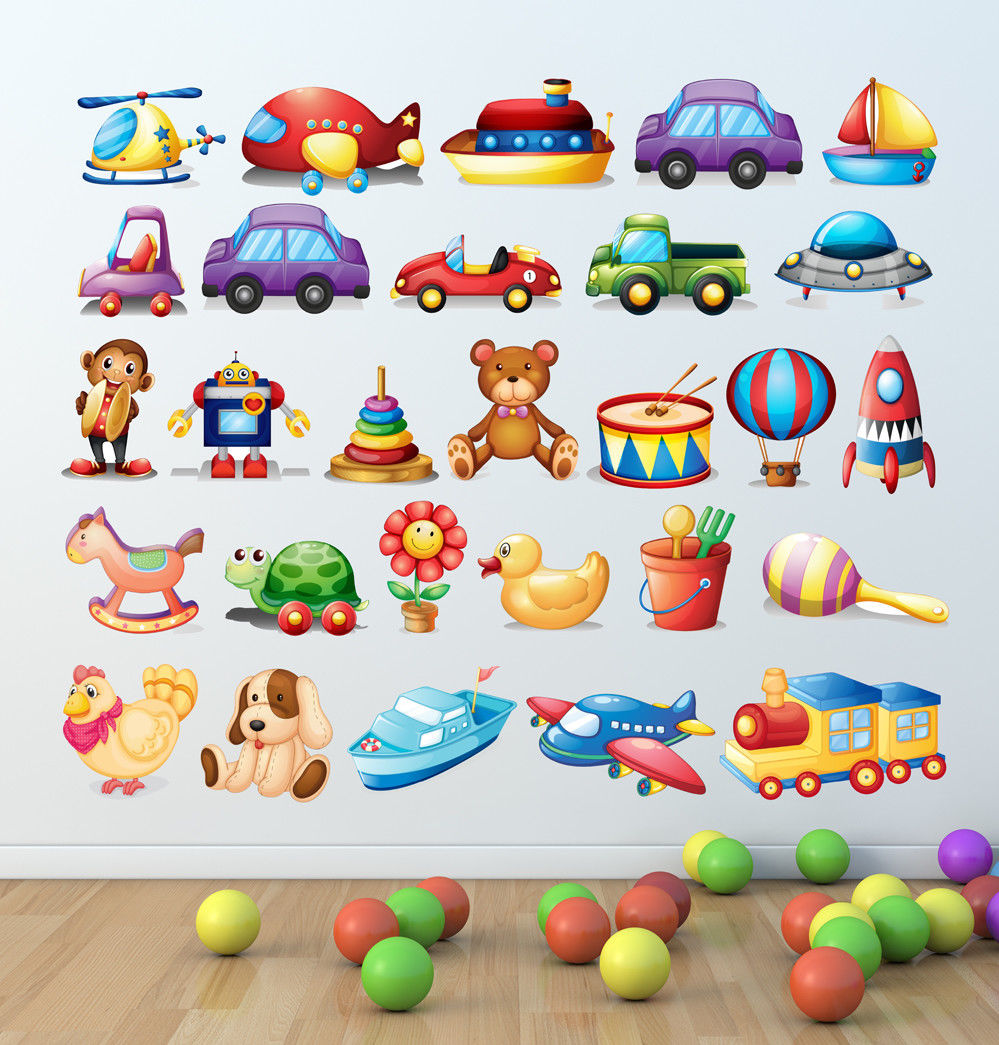 Learning wall stickers educational letters kids room decal