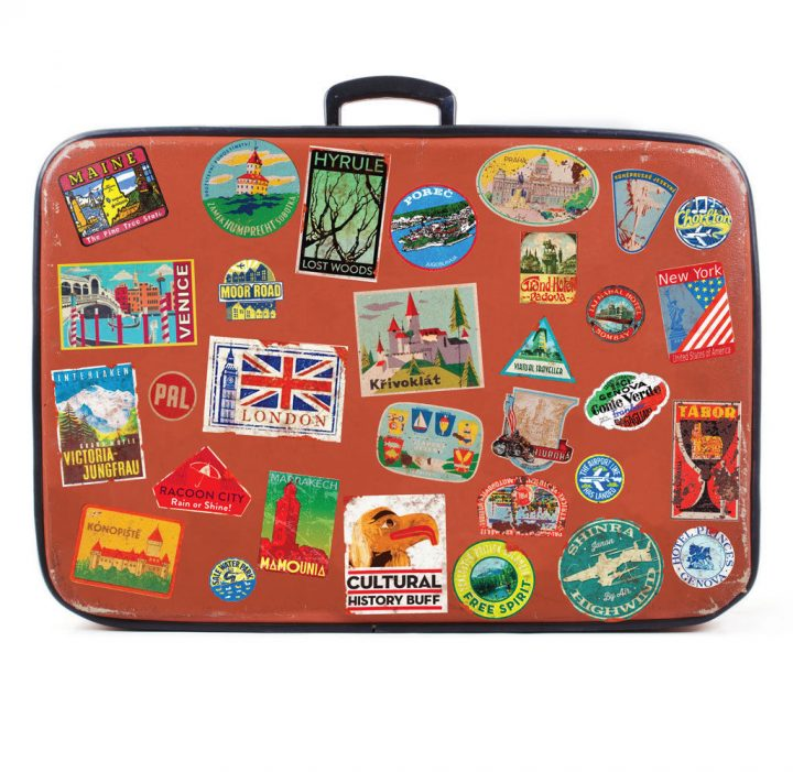 Luggage-stickers-suitcase-patches-vintage-travel-labels-retro-style-vinyl-decals-253873138484