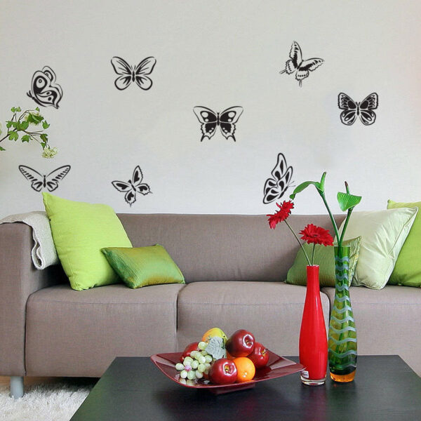 8-Butterflies-Wall-Vinyl-Sticker-Decal-Livingroom-Nursery-Children-Mural-Art-262064318625