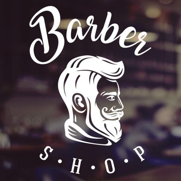 Barber-Shop-Gentlemens-Hair-Men-Salon-Window-Vinyl-Sign-Sticker-Lettering-Beauty-263940640705
