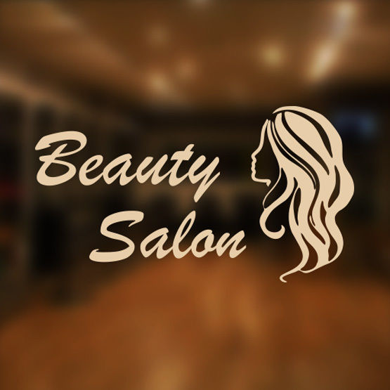 Beauty Salon Shop Vinyl Sign Women Hairdressers Hair
