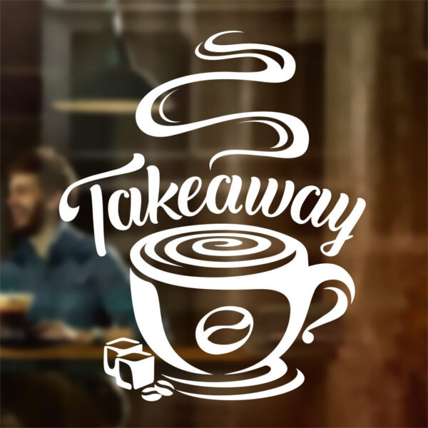 Takeaway sticker