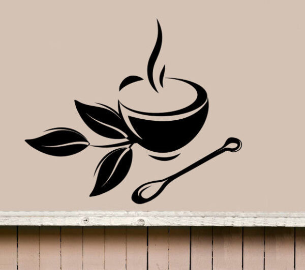 Coffee-Tea-Cup-Kitchen-Retro-Wall-Sticker-Vinyl-Decal-Art-Restaurant-Pub-Decor-262478324715