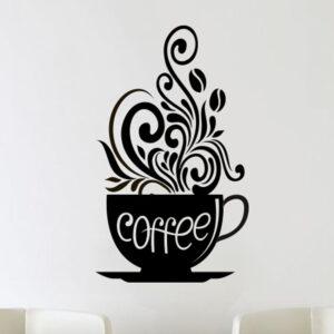 Love-Coffee-Cups-Kitchen-Wall-Tea-Sticker-Vinyl-Decal-Art-Restaurant-Pub-Decor-252534743865