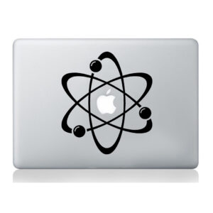 Atom-laptop-sticker-macbook-decal-art-apple-tablet-skin-silhouette-molecular-252861004036