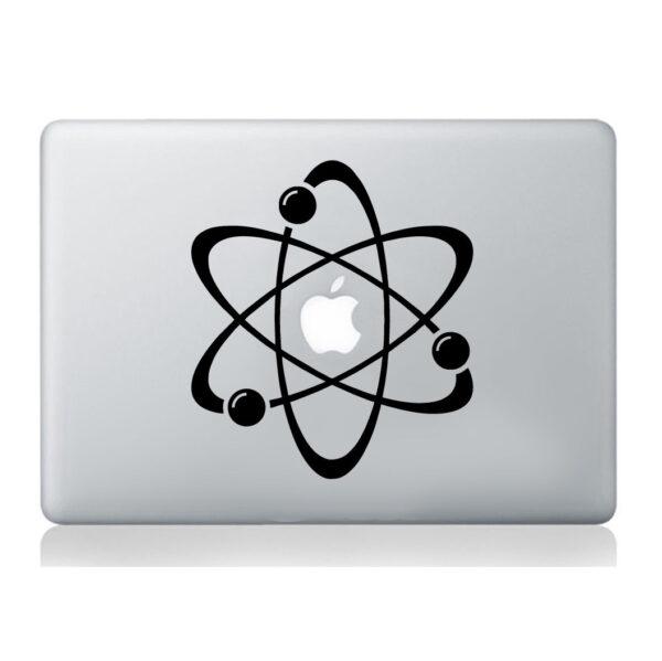 Atom-laptop-sticker-macbook-decal-art-apple-tablet-skin-silhouette-molecular-252861004036