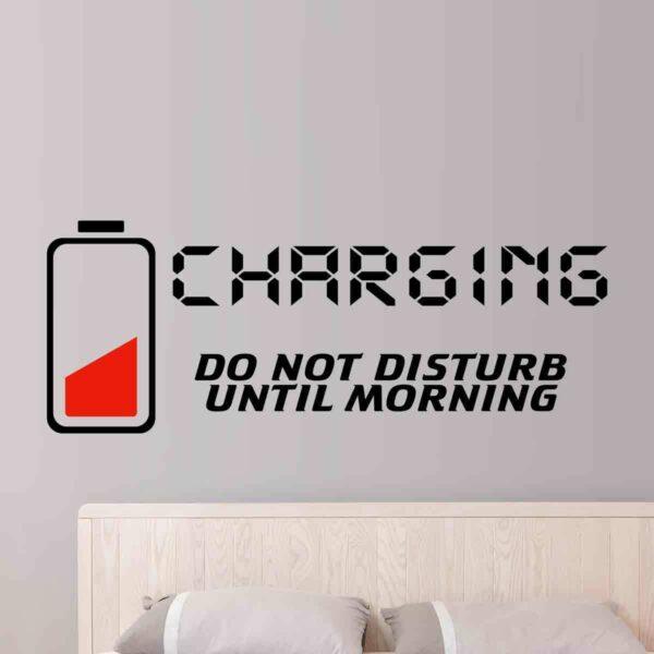 Charging-dont-disturb-Vinyl-Wall-Sticker-Decor-Decal-Mural-Kids-Children-room-253031145506