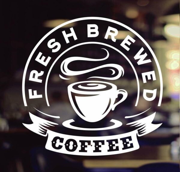 Fresh-Brewed-Coffee-Takeaway-Cup-Window-Sign-Vinyl-Sticker-Graphics-Cafe-Shop-264388712836