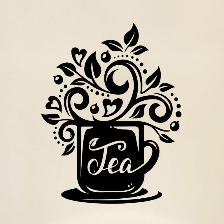 Tea-Cup-Kitchen-Wall-Coffee-Sticker-Vinyl-Decal-Art-Restaurant-Pub-Decor-Love-253056443516