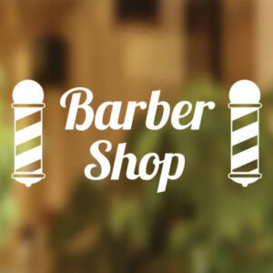 Barbers-Shop-Vinyl-Sign-Hairdressers-Hair-Salon-Window-Lettering-Sticker-Art-252313321167
