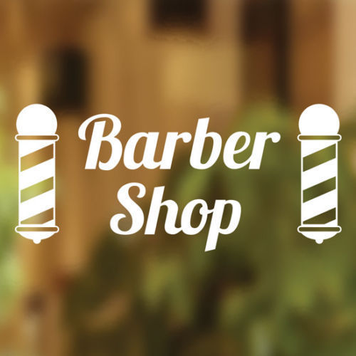 Barbers-Shop-Vinyl-Sign-Hairdressers-Hair-Salon-Window-Lettering-Sticker-Art-252313321167