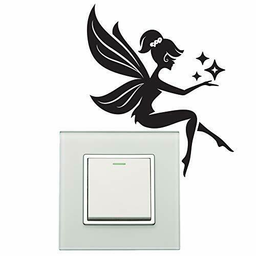Fairy-Wall-Sticker-plate-light-switch-Wall-Sticker-Vinyl-Decal-Mural-home-decor-254286863327