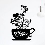 coffee cups sticker
