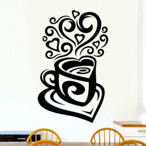 Love-Tea-Coffee-Cup-Kitchen-Wall-Tea-Sticker-Vinyl-Decal-Art-Restaurant-Pub-Deco-262781812637