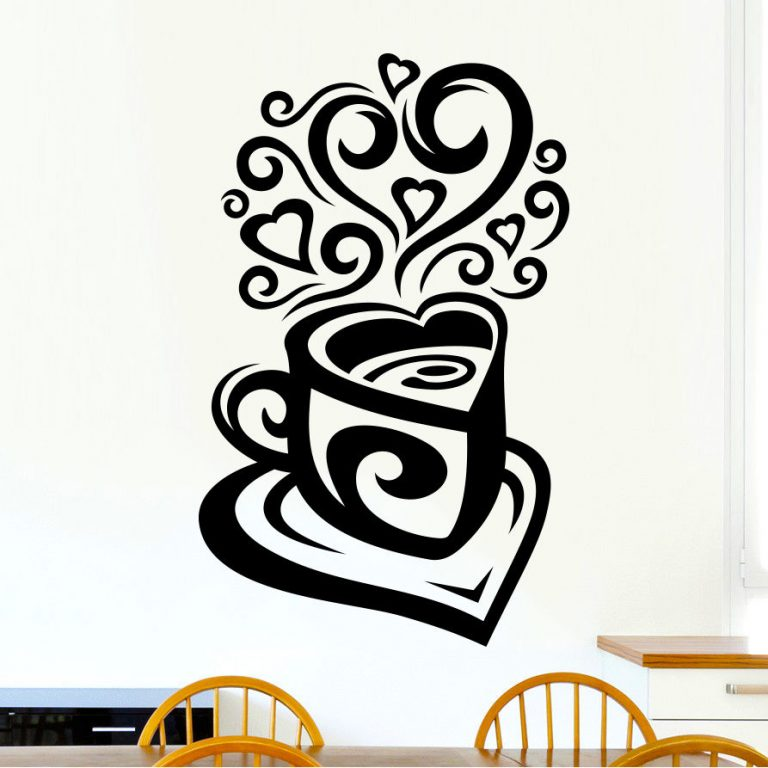 Love-Tea-Coffee-Cup-Kitchen-Wall-Tea-Sticker-Vinyl-Decal-Art-Restaurant-Pub-Deco-262781812637