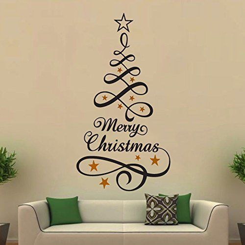 Merry-Christmas-Deers-Shop-vinyl-sticker-Window-Lettering-art-sign-New-Year-262710370667